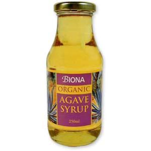 agave syrup - sugar alternative - low gl