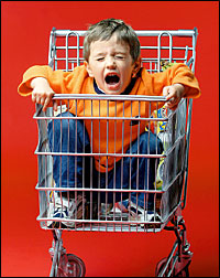 Food additives such as colourings and preservatives can cause mood disorders and lead to temper tantrums in children