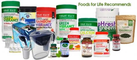 Natural Health Food Shop Vitamins minerals probiotics antioxidants alkalising water filters