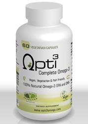 Opti3 Opti 3 Opti-3 Omega 3 DHA EPA from Algae