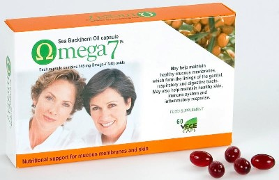 Sea Buckthorn Oil Omega 7 - may help omega 3 EPA DHA conversion