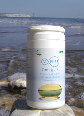 Omega 3 DHA and EPA from Algae